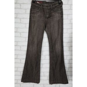COH Hutton Stretch High Rise Womens Flare jeans